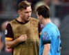 El saludo de Messi a Totti