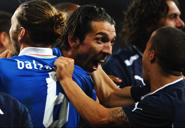 독일 월드컵의 영웅들, 이탈리아 구하다