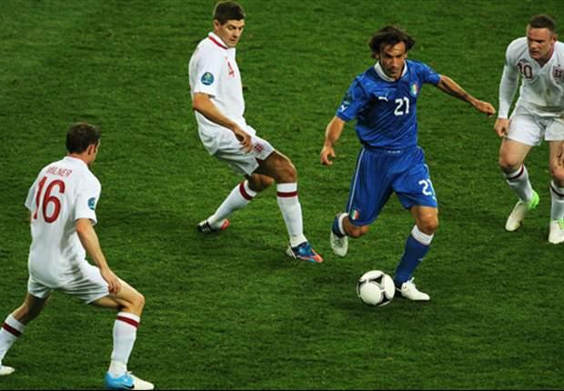 Pirlo vs. Iniesta - wer wird bester Spieler bei der EURO?