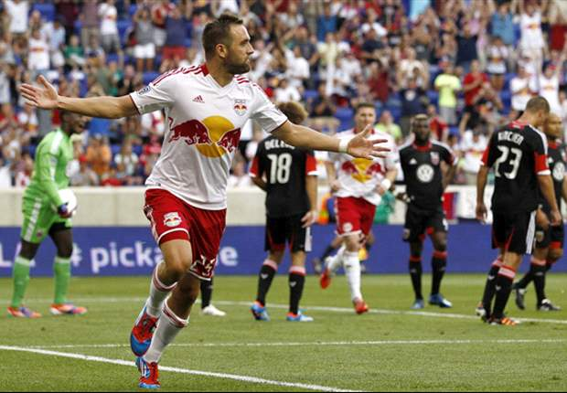 New York Red Bulls 3-2 D.C. United: Barklage hits double against his old side to clinch rivalry match