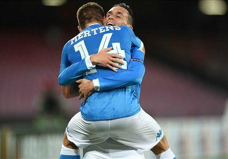 Napoli 5-0 Club Brugge: Clinical display