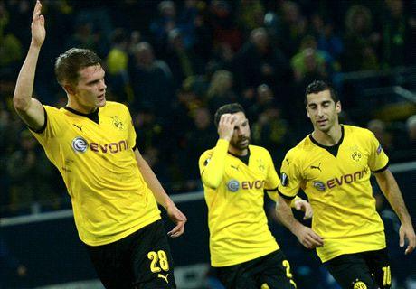 Dortmund 2-1 Krasnodar: Park shines