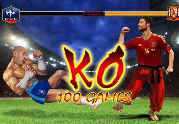 Xabi Alonso celebró sus cien partidos dejando K.O a la Francia de Karim Benzema