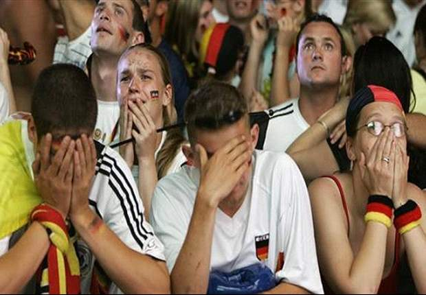 Perennial chokers Germany must beat themselves before Italy