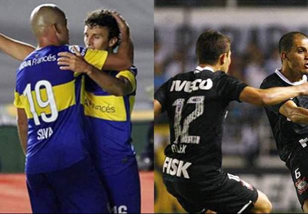 Apuestas Copa Libertadores: ¿Cuál será el resultado del Cortinthians-Boca Juniors en Sao Paulo?