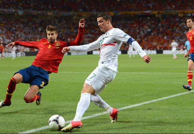 Portugal 0-0 Spain (aet, 2-4 on penalties): Fabregas puts holders into final
