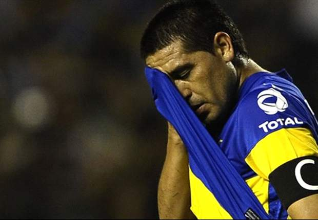 'I have nothing left to give' - Riquelme confirms Boca exit