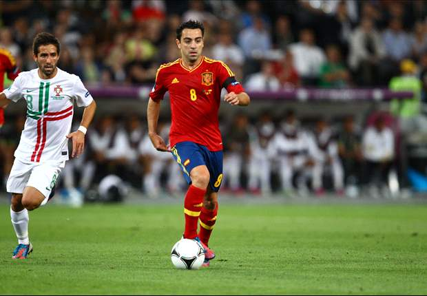 Xavi: Spain do well regardless of who plays