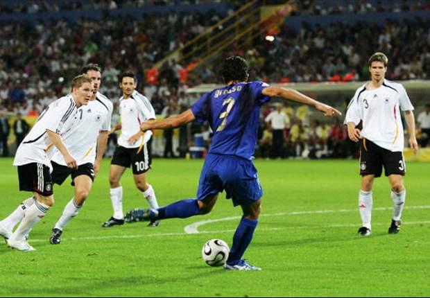 WM 2006, Halbfinale: Fabio Grosso schießt Italien in Front
