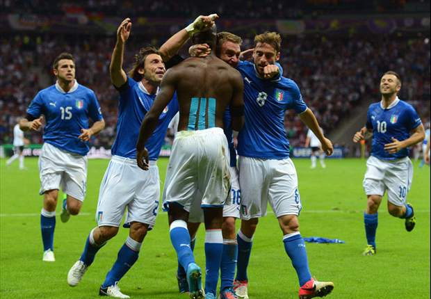 Mario is the main man as Italy knock Germany out of Euro 2012