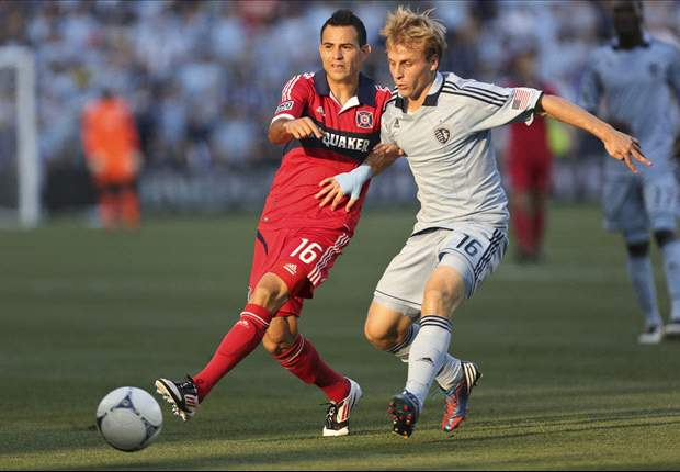 Sporting Kansas City 0-1 Chicago Fire: Fire torch host on hot summer day