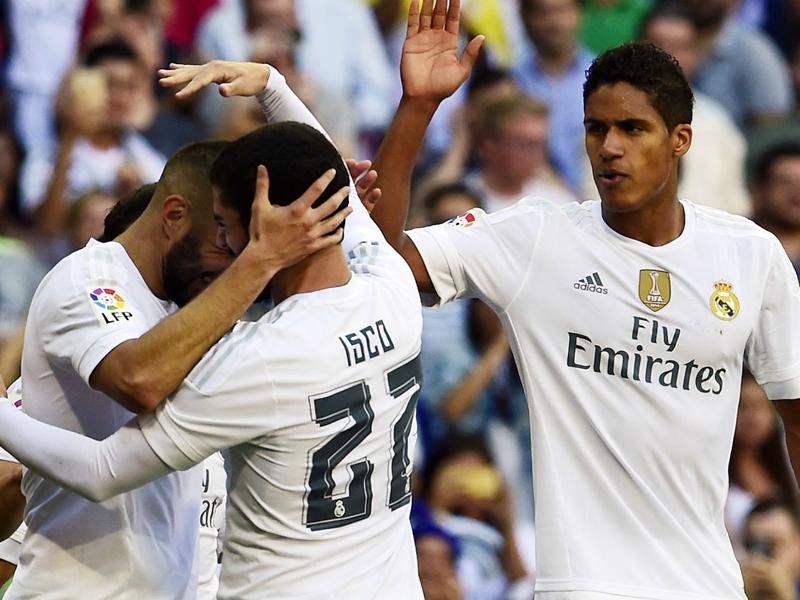 Real Madrid, Varane et Benzema titulaires contre Eibar