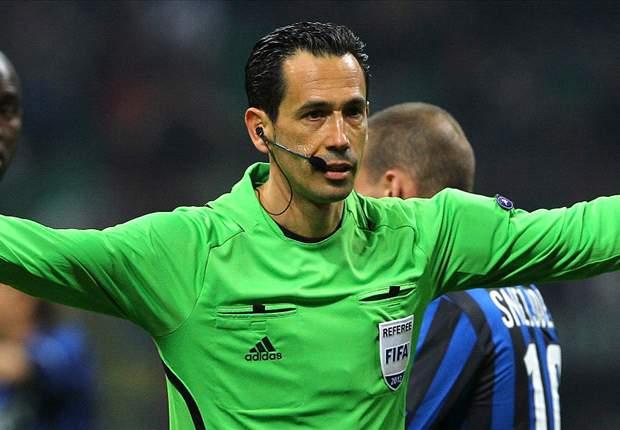 Secondo l'IFFHS è Proenca il miglior arbitro del 2012: il primo italiano è Rizzoli, all'undicesimo posto