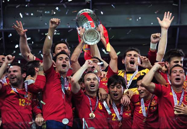 Spain become eternal with historic triple crown ... and they're not finished yet