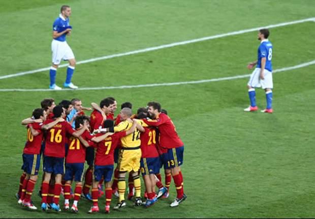 Euro 2012: Las puntuaciones de Comunio de la final España - Italia