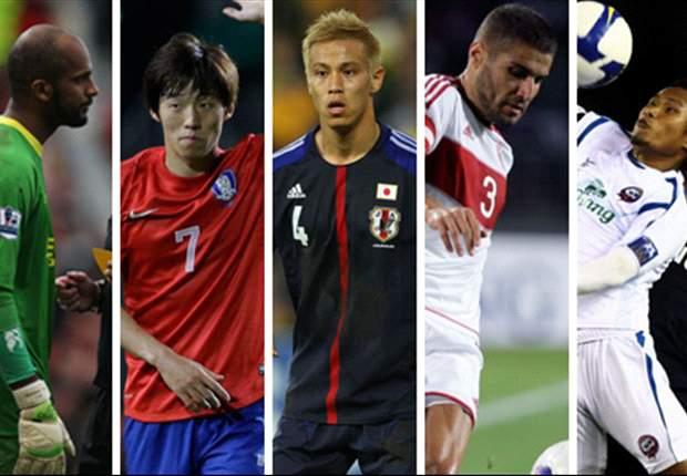 Keisuke Honda, Kim Bo-Kyung, Pipob On-Mo & Ali Al Habsi - Who should be the Asian player of the month for June?