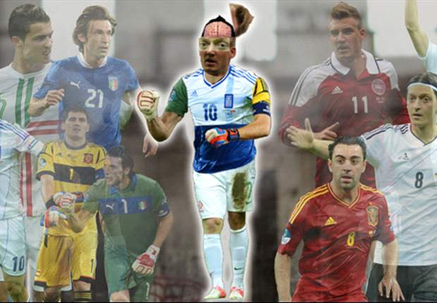 Xavi's brain, Pirlo's guts & Ronaldo's right foot: Presenting the ultimate Euro 2012 footballer
