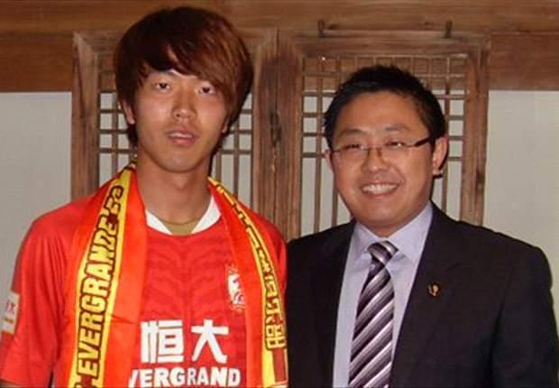 Guangzhou Evergrande sign South Korea international Kim Young-Gwon
