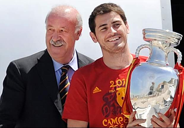 Iker Casillas Jagokan Vincente Del Bosque Raih Ballon D'Or