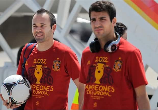 """La Spagna è di nuovo campione d'Europa, ma la fame di vittorie di Fabregas non si placa: """"Ora sotto col Brasile"""""""