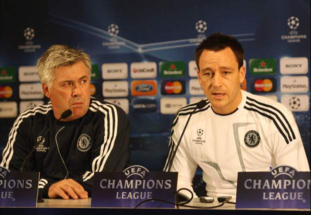 Ancelotti defends 'fantastic' Chelsea captain Terry