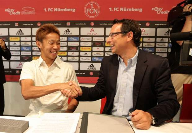 New Nurnberg signing Hiroshi Kiyotake: The timing of the Olympics is inconvenient