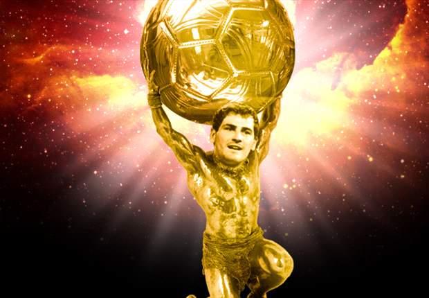 Iker Casillas merece todo el oro del mundo