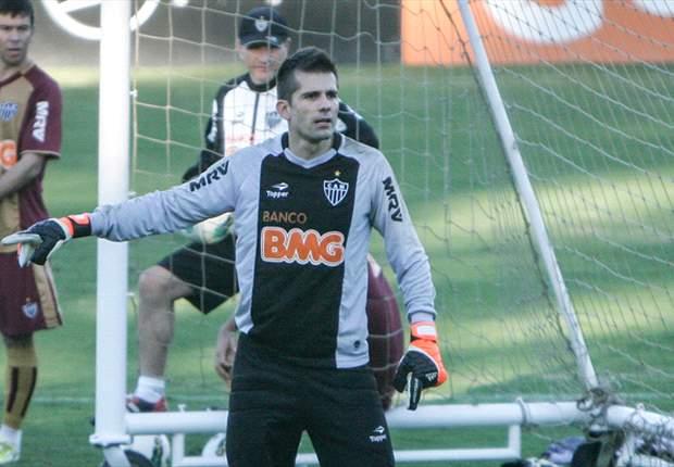 Victor comemora defesas que evitaram derrota do Atlético-MG