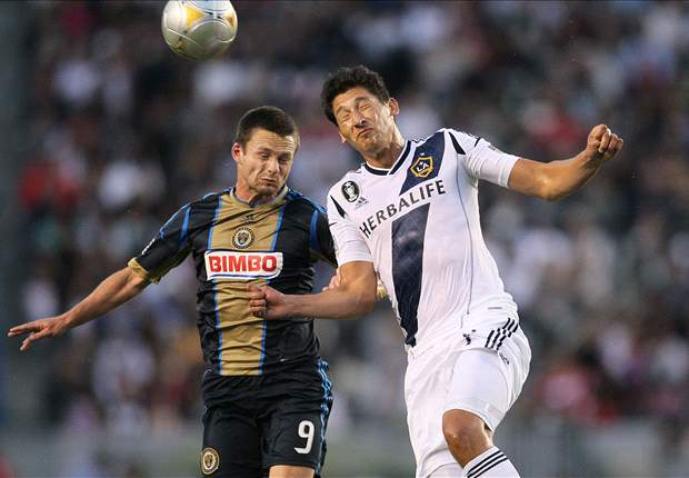 LA Galaxy 1-2 Philadelphia Union: Omar Gonzalez returns