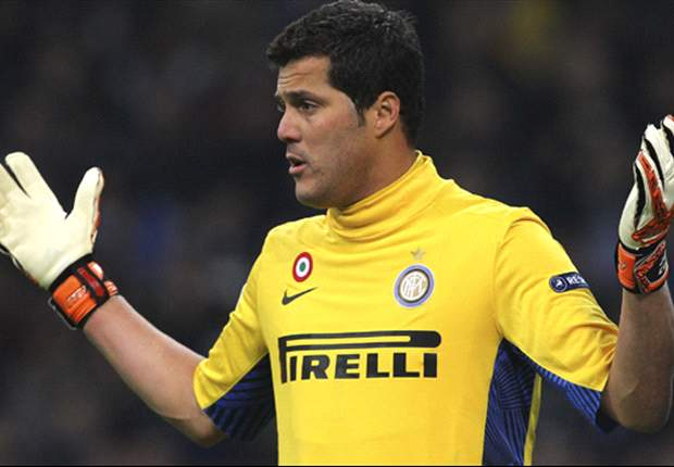 Julio Cesar denies comments over Inter future