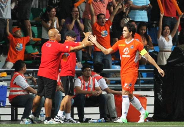 'I won't deny the fact that we were lucky' - Loyola Meralco's Vincent Santos after his side's qualification for the Singapore Cup semi-final