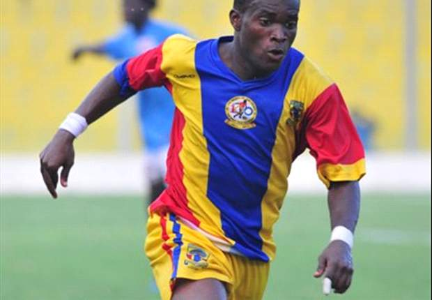 FLASHBACK: Mahatma Otoo in Hearts jersey