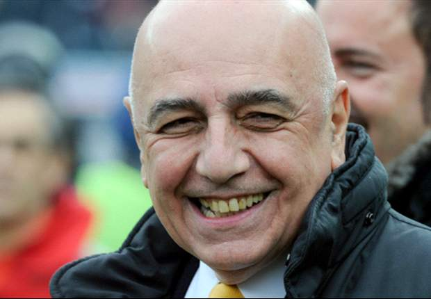 Galliani makes peace with AC Milan boss Allegri