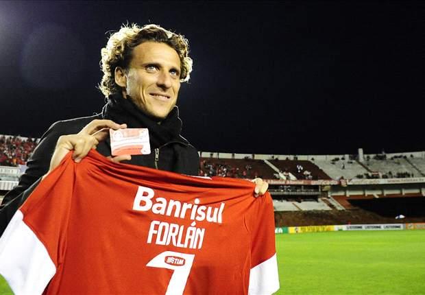 Forlan: Internacional can win Brasileirao