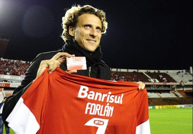I was played out of position at Inter, argues Forlan