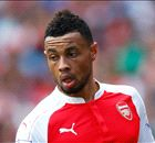 Coquelin trains as Arsenal's centre-back