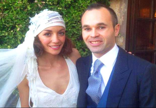La boda de Andrés Iniesta arrasó en las redes sociales