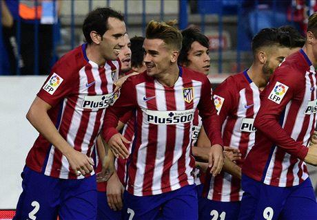 RATINGS: Atletico Madrid 2-0 Getafe