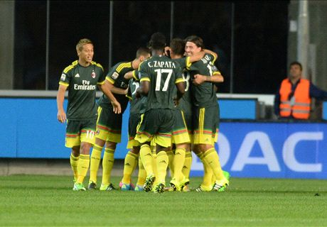 RATINGS: Udinese 2-3 Milan
