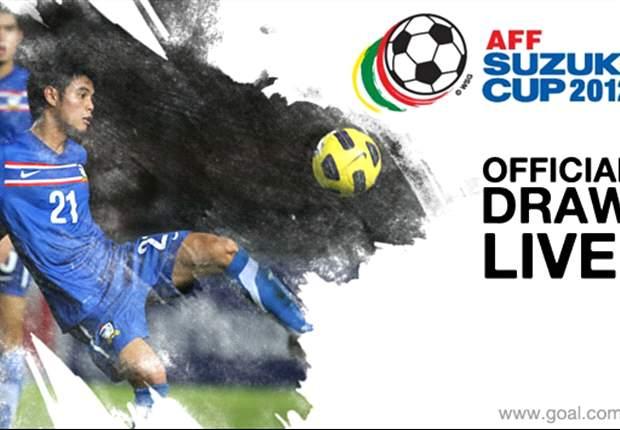Aturan Drawing AFF Suzuki Cup 2012