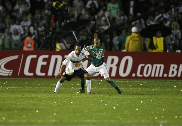 Coritiba 1 x 1 Palmeiras: na volta ao Couto Pereira, Palmeiras joga mal mas segura o empate
