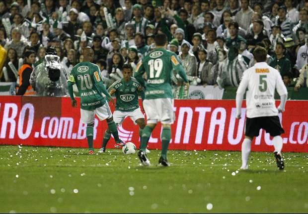 Assunção comemora primeiro título no Palmeiras