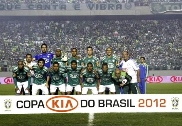 El Palmeiras gana la Copa de Brasil