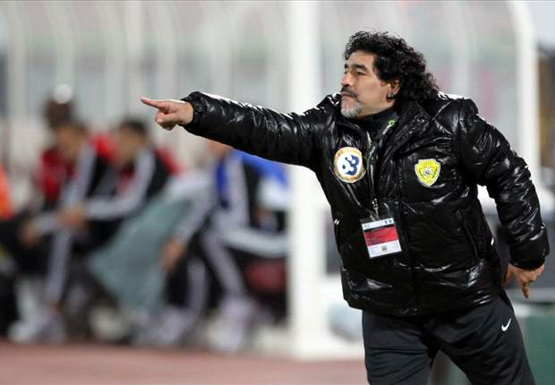 Maradona claims he learned about Al Wasl dismissal on Twitter