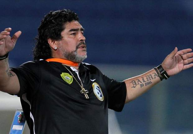 Maradona expresses desire to coach in China