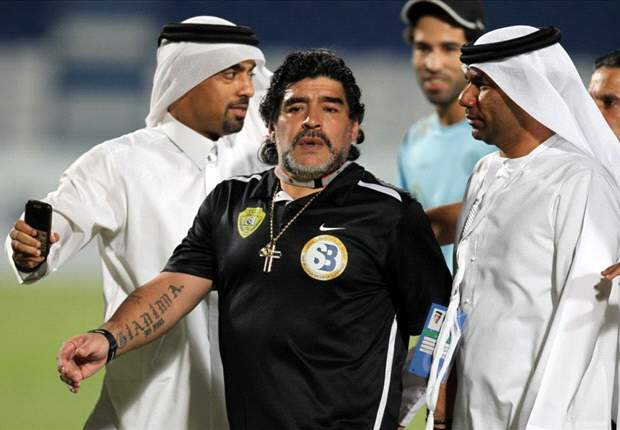 Al Wasl rubbish €1.4m Maradona pay-out reports