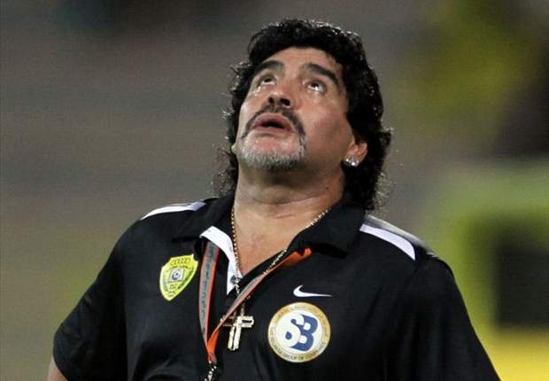 Maradona in talks to coach in China