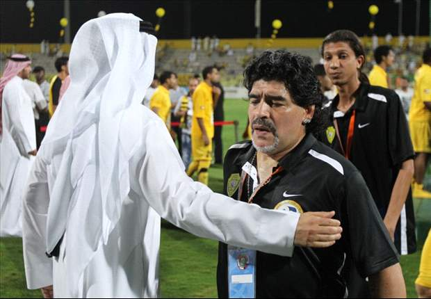 """Maradona avvisa l'Al Wasl: """"Se non mi ridaranno l'incarico vorrò comunque riscuotere il denaro del mio contratto"""""""