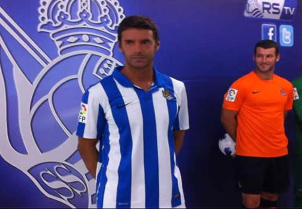La Real Sociedad presenta sus nuevas equipaciones