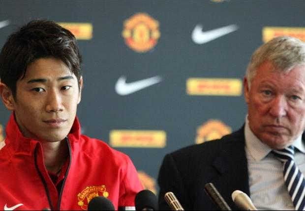 Shinji Kagawa Sulit Pahami Logat Sir Alex Ferguson